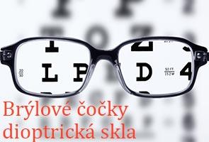Brýlové čočky a dioptrická skla na Eurooptik.cz